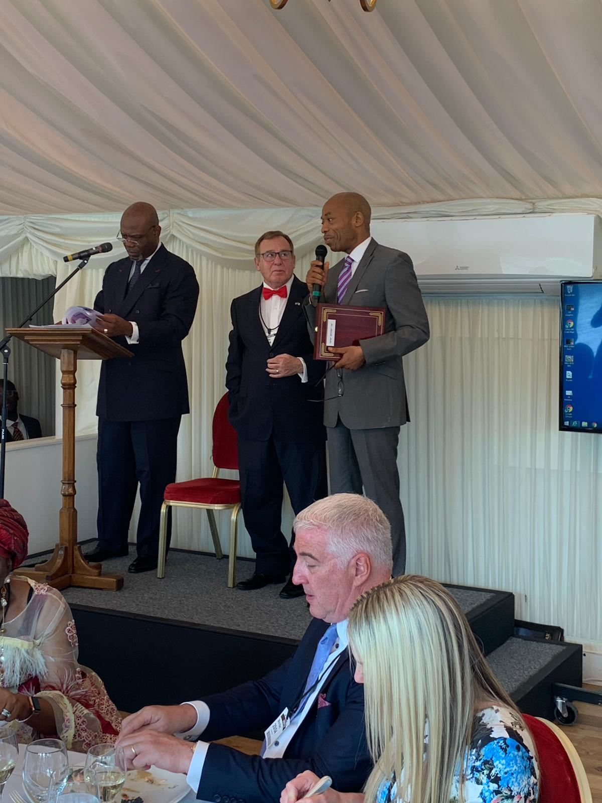 European Leadership Award at the House of Lords on  29th of April ,2019